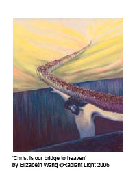 Christ is our bridge to heaven